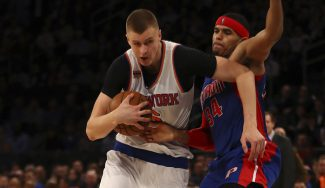 El Madison ya le canta «MVP, MVP»: Porzingis, récord anotador ante los Pistons (Vídeo)