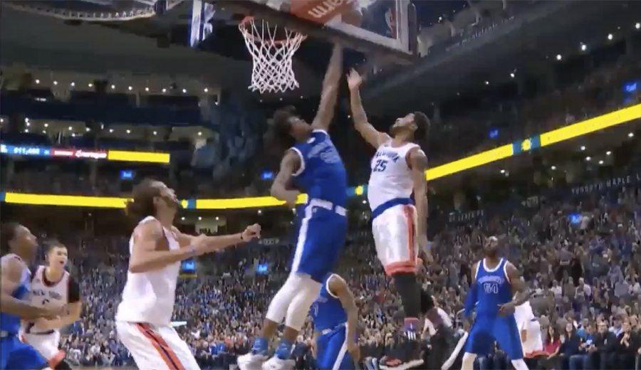 Nogueira, decisivo en el triunfo de los Raptors ante los Knicks: mira qué dos tapones (Vídeo)