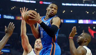 Los Thunder, invictos: Westbrook decide y Abrines pide paso con dos triples (Vídeos)