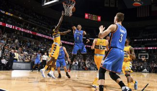 Sabonis cumple junto a un gran Westbrook: 18 asistencias y sexto triple-doble (Vídeos)