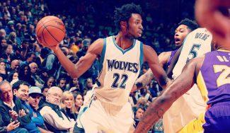 Los Wolves frenan a los Lakers: magia de Ricky y récords de Wiggins y Bjelica (Vídeos)