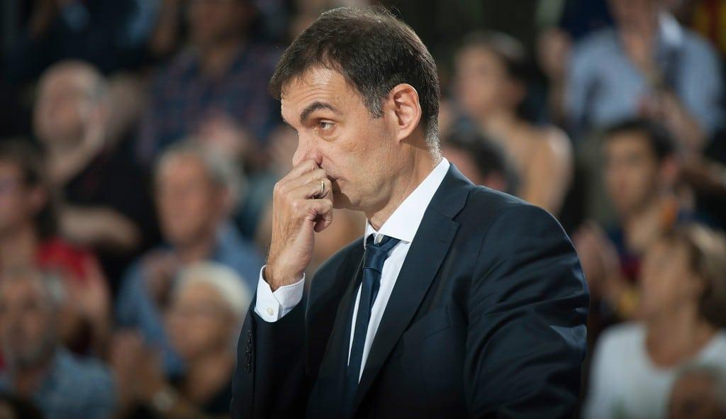 """Bartzokas denuncia un error de los árbitros y la mesa """"que podía haber cambiado el partido"""""""