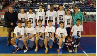 ¡Campeones! El Santo Domingo puede con el Náutico y se lleva el título de su torneo infantil