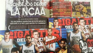 Con la meta de salir en nuestra Guía Gigantes de la NBA. En Junior, los consejos del Nacho Díez