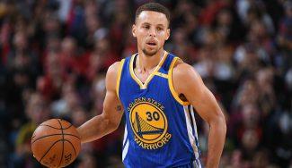 Vuelve el mejor Curry: 23 puntos en el tercer cuarto para tumbar a los Blazers (Vídeo)