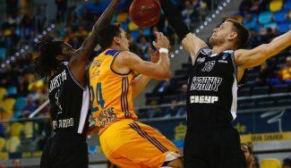 Eurocup: Valencia y Bilbao vencen, Unicaja sella su pase al Top 16, y Fuenla y Murcia caen