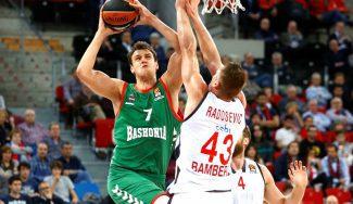 Voigtmann lidera la remontada del Baskonia ante el Brose: matazo y triple vital (Vídeos)