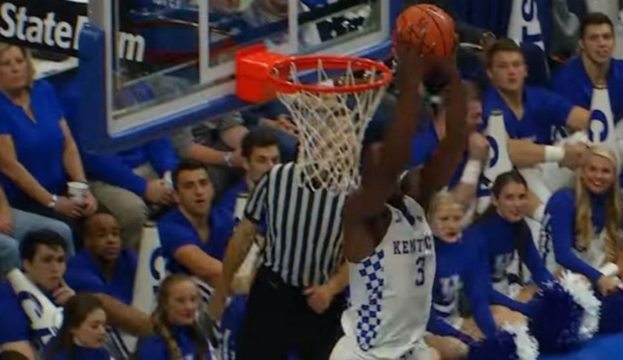 Ha ocurrido en la NCAA: Kentucky gana a su rival… por 93 puntos. ¡Vaya paliza!