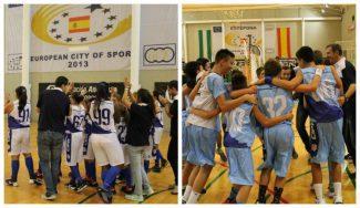 Málaga domina Andalucía: campeones autonómicos en categoría Mini en chicos y chicas