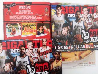 ¿Ya te has leído la Guía NBA? Léete Gigantes Junior, con el descubridor Mario López, del Gernika