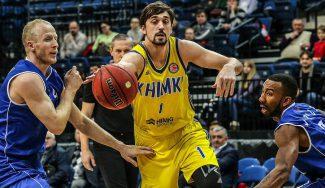 La última de Shved: pase picado entre las piernas para el mate de Sokolov (Vídeo)