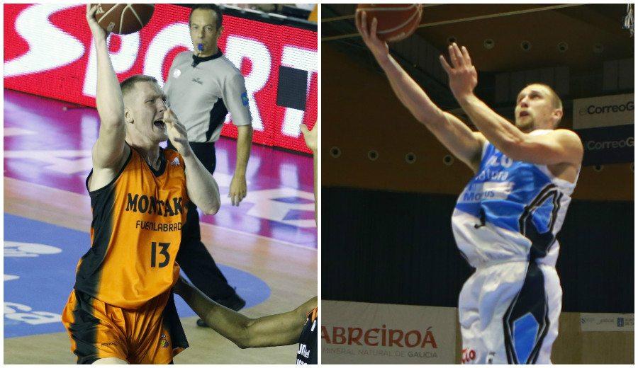 El Fuenla y el Obradoiro salen del pozo: dos bálticos brillan para ganar en casa (Vídeos)