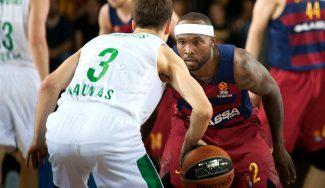 Rice lidera el triunfo del Barça ante Zalgiris: triple de Lekavicius ¡desde su campo! (Vídeo)