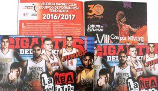 A la altura de la Guía NBA: Gigantes Junior te presenta las plantillas de la cantera del Valencia Basket