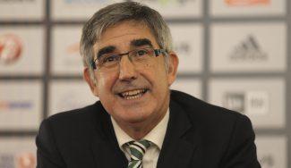 """Bertomeu habla de la Euroliga, la ACB y las ventanas FIBA, una """"competición absurda"""""""