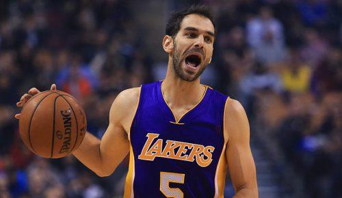 ¿Compañero de Curry y Durant? Los Lakers cortan a Calderón, que apunta a los Warriors