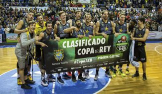 Fiesta del Canarias por meterse en Copa: así lo celebran, con 'aparición' de Beirán (Vídeo)