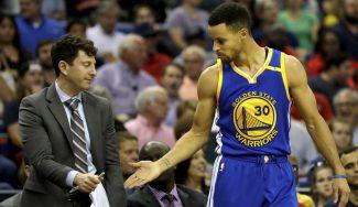 Triple-doble y defensa vital de Green ante los Pelicans: Curry festeja… ¡con un rival! (Vídeo)