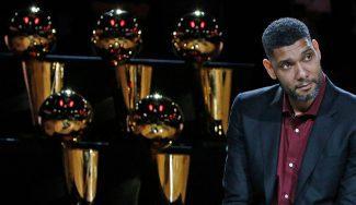 Los Spurs retiran el '21' de Duncan: repasa lo mejor de la emotiva ceremonia (Vídeo)