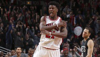 Los Bulls tumban a los Nets: póster entre los Lopez y canasta ganadora de Butler (Vídeo)