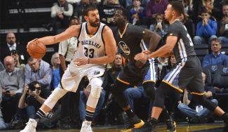 Los Grizzlies arrasan a los Warriors y Marc saca pecho: «No jugamos a no perder» (Vídeo)