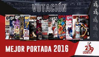 Votación mejor portada de Gigantes del Basket del 2016