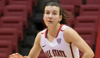 A lo suyo: Carmen Grande, doble-doble con Ball State en la NCAA