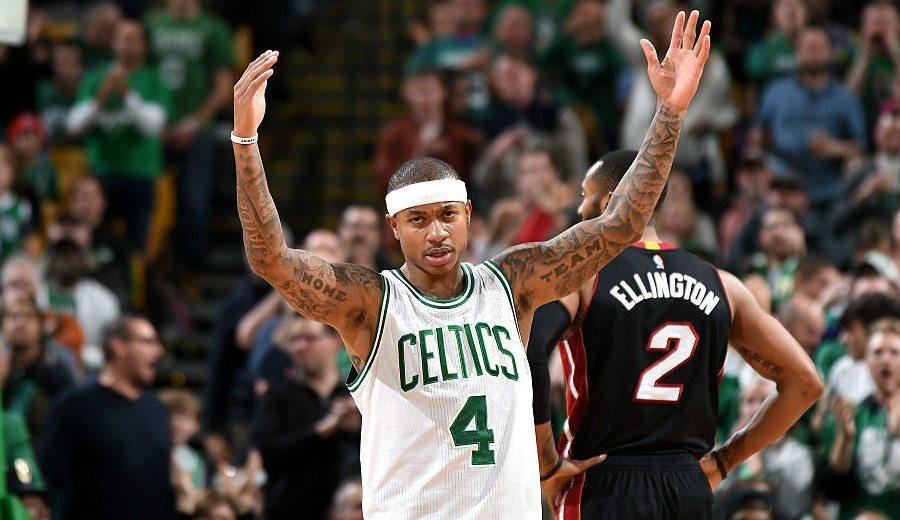 Isaiah Thomas se pone a la altura de Bird y bate un récord histórico de los Celtics (Vídeo)