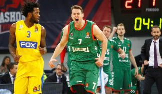 El Baskonia gana al Maccabi: mates de Diop y Voigtmann, reversos de Shengelia (Vídeos)