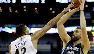 Marc, triple-doble y victoria: triplazo para forzar la prórroga ante los Pelicans (Vídeo)
