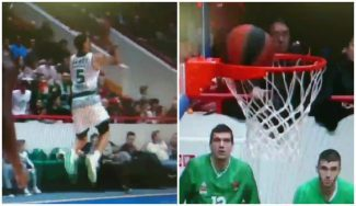 ¡La corbata del año! Se sale de dentro el triple de Mike James desde media pista (Vídeo)