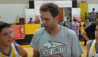 Pancho Jasen, alma de entrenador: emotivo 'speech' del ex Estu a canteranos del Bahía (Vídeo)