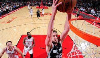 Los Spurs vencen a los Rockets con Mills como héroe y doble-doble de Pau (Vídeo)