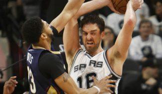 Pau se 'cuela' en la fiesta de Duncan: récord reboteador y triunfo de los Spurs (Vídeo)