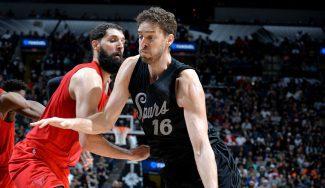 LaMarcus lidera a los Spurs sobre los Bulls: triplazo de Mirotic y taponazo de Pau (Vídeos)