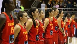 Eurobasket Femenino: España, con Hungría, Ucrania y República Checa. Los grupos, aquí