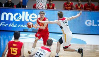 El poderío alemán bajo los aros deja a España sin opciones. Toca pelear por entrar en el Mundial Sub-19