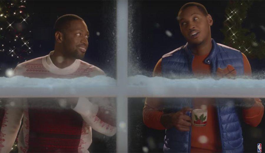 Estrellas NBA dan el cante con un villancico para anunciar los partidos de Navidad (Vídeo)