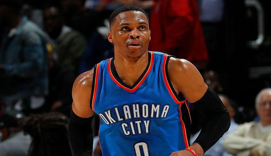 Westbrook, sin triple-doble: pone fin a su racha pero da la victoria a Oklahoma (Vídeo)