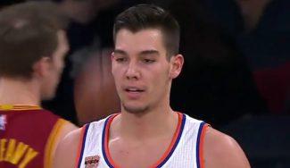 Los Cavs barren a los Knicks y Willy aprovecha sus minutos: anota su primer triple (Vídeo)