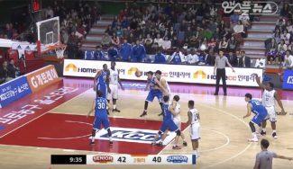 Un reto maniquí flipante: los jugadores, 'congelados' en el All-Star de Corea (Vídeo)