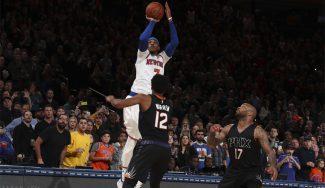 ¡Cobra a los Knicks! Se sale el triple de Melo para ganar a los Suns sobre la bocina (Vídeo)