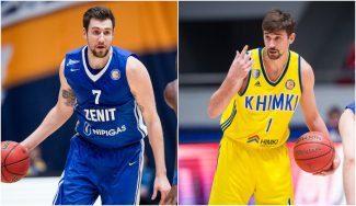 Duelo de cañoneros con pasado NBA en la VTB: Karasev y Shved, frente a frente (Vídeo)