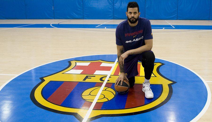 """Faverani, tras su primer entreno con el Barça: """"No pensaba en que llegara esta oportunidad"""""""