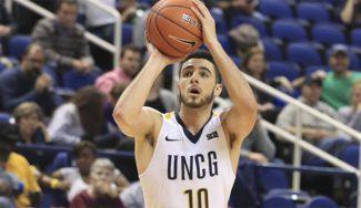 Francis Alonso se destapa: récord anotador en NCAA y victoria de UNCG (Vídeo)