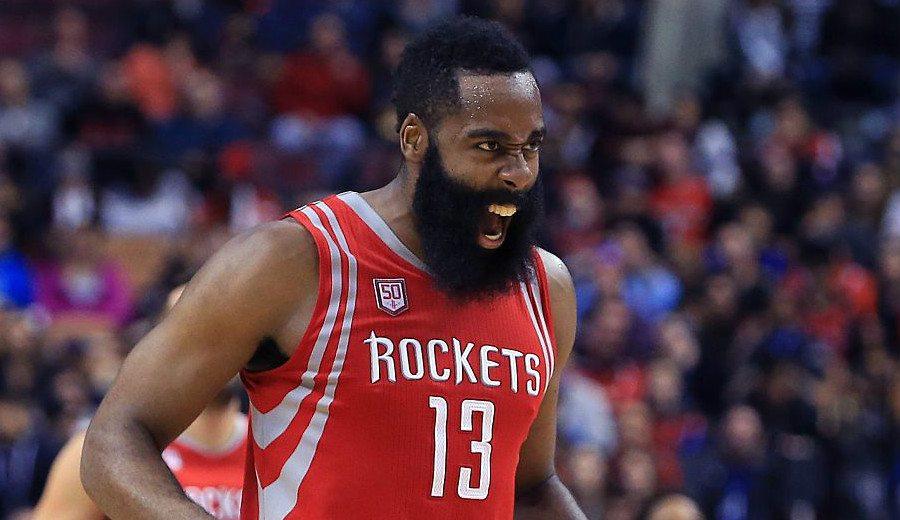 Un Harden sideral se apoya en Gordon para ganar a los Lakers en la prórroga