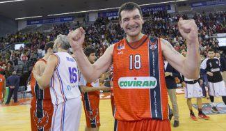 Jesús Fernández, MVP de la Copa LEB Plata con 41 años. Mira su actuación, aquí (Vídeo)