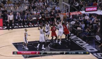 Los Spurs apabullan a los Raptors con un festival de tapones: Pau pone 4 (Vídeo)