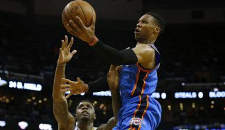 Abrines escolta con 11 puntos otra gran noche de Westbrook: 60 triples-dobles (Vídeo)
