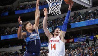 Willy carbura en unos Knicks en barrena: récord reboteador NBA ante Dallas (Vídeo)